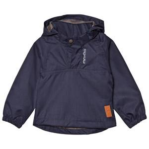 Minymo Boys Coats and jackets Blue The Jazz 44 Jacket Herringbone Dark Navy