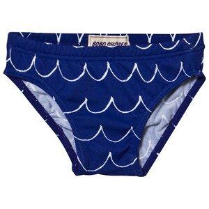 Bobo Choses Boys Swimwear and coverups Blue Swim Trunk Wavy Mazarine Blue