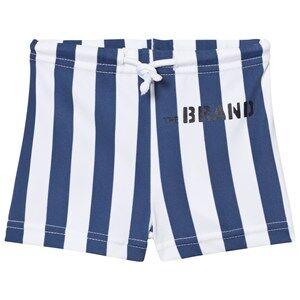 The BRAND Boys Private Label Swimwear and coverups Blue Swim Shorts Blue Stripe