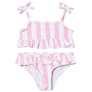 The BRAND Girls Private Label Swimwear and coverups Pink Bikini Pink Stripe