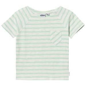 eBBe Kids Boys Tops Green David T-Shirt Off White/Ever Green