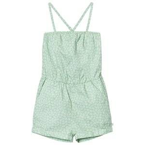Image of eBBe Kids Girls All in ones Green Camden Jumpsuit Green Feathers