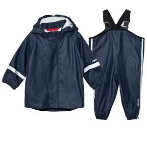 Reima Unisex Clothing sets Navy Rain Outfit Tihku Navy