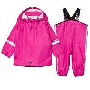 Reima Girls Clothing sets Pink Rain Outfit Tihku Pink