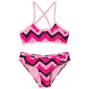 Oneill Girls Swimwear and coverups Pink Pink Active Top Bikini