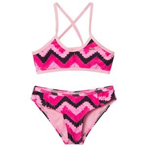 Oneill Girls Swimwear and coverups Pink Pink Active Top Bikini
