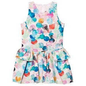 No Added Sugar Girls Dresses Multi Multi Spot Neoprene Dress