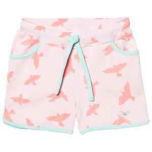 Livly Girls Shorts White College Shorts Pink Luna