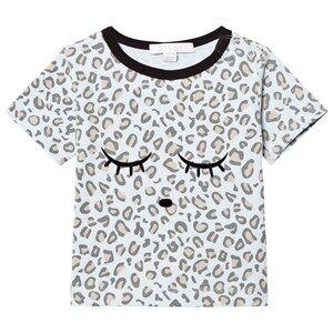 Livly Boys Tops White T-shirt Leo Print