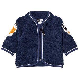 Molo Unisex Fleeces Navy Urvan Fleece Jacket Navy Blue