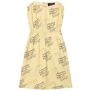 The Animals Observatory Girls Dresses Yellow Marten Dress Soft Yellow Kids Museum