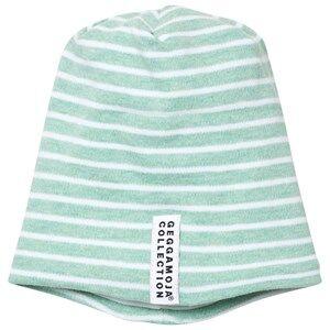 Geggamoja Unisex Commission Headwear Green Topline Hat Green Melange/White
