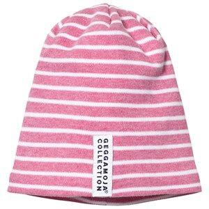 Geggamoja Girls Commission Headwear Pink Topline Hat Pink Melange/White