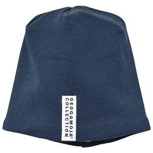 Geggamoja Unisex Headwear Navy Topline Hat Marine Blue