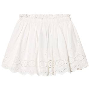 Image of Cyrillus Girls Skirts White White Broderie Anglaise Skirt