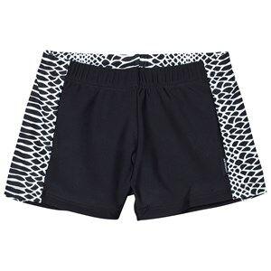 Lindberg Boys Swimwear and coverups Multi Vincent Swim Trunk Black/White