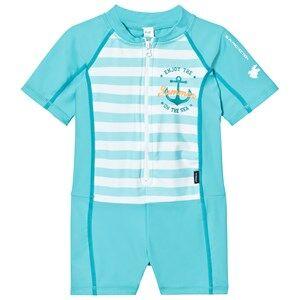 Lindberg Unisex Swimwear and coverups Blue Joy Suit Turquoise