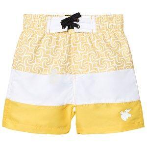 Lindberg Unisex Swimwear and coverups Yellow Barbados Beach Shorts Yellow