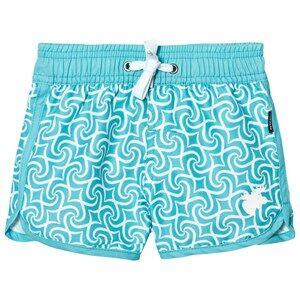 Lindberg Unisex Swimwear and coverups Blue Tulum Beach Shorts Turquoise