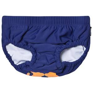 Lindberg Unisex Swimwear and coverups Navy Lion Swim Diaper Navy