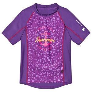 Lindberg Girls Swimwear and coverups Purple Sky Shirt Lilac