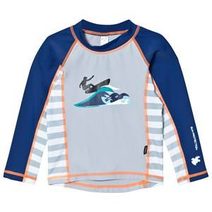 Lindberg Unisex Swimwear and coverups Navy Hero Shirt Navy