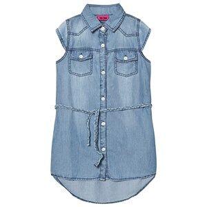 Me Too Girls Dresses Blue Laila 289 Dress Blue Denim