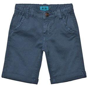 Me Too Boys Shorts Blue Lasse 288 Twill Bermuda Shorts Dark Denim