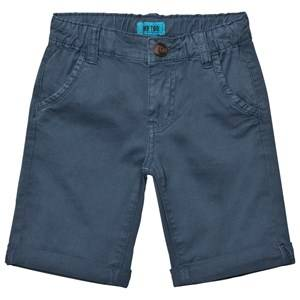 Me Too Boys Shorts Blue Lasse 288 Twill Bermuda Shorts Dark Denim