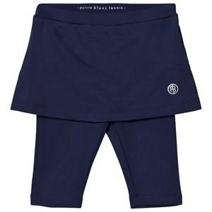 Poivre Blanc Girls Bottoms Navy Navy Classic Tennis Capri Leggings