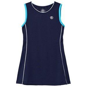 Poivre Blanc Girls Dresses Navy Navy Classic Tennis Dress