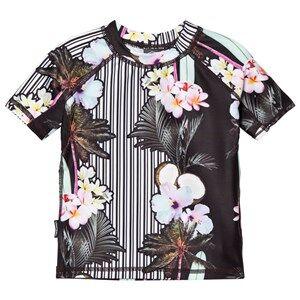 Molo Girls Swimwear and coverups Multi Neptune Top Aloha Stripe