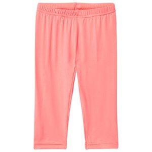 Me Too Girls Bottoms Pink Lee 326 Leggings Capri Bright Coral