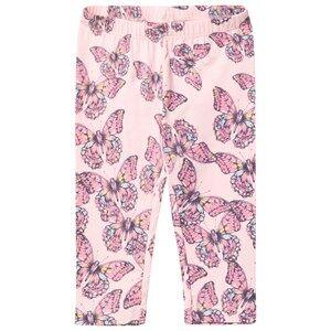 Me Too Girls Bottoms Pink Laila 301 Leggings Capri Crystal Rose