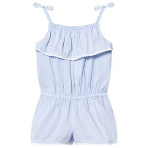Image of Heidi Klein Girls All in ones Blue Blue Jamie Chambray Playsuit
