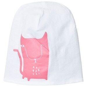Kattnakken Girls Norway Assort Headwear Pink Reversible Hat Pink