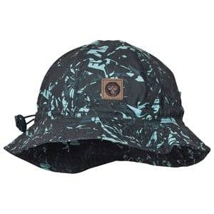 Hummel Boys Headwear Navy Jaco Sunhat Multi Color Blue