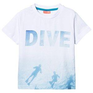 Sunuva Boys Tops White White Photographic Diver Tee