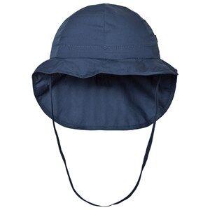 Melton Unisex Headwear Navy Hat Neck Cover Solid Marine
