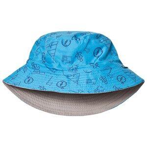 Lindberg Boys Headwear Blue Austin Sun Hat Blue