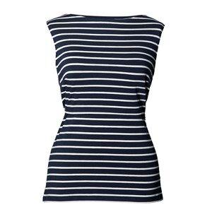 Boob Girls Maternity tops Multi Tank Top Simone Midnight Blue Off-White
