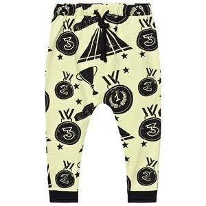 Koolabah Unisex Bottoms Yellow Victory Slouch Pants Yellow/Black