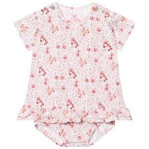 Image of Hust&Claire; Girls Dresses White Floral Baby Body Dress White