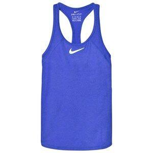 NIKE Girls Tops Blue Blue Tennis Slam Tank Top