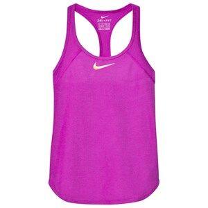 NIKE Girls Tops Purple Purple Tennis Slam Tank Top