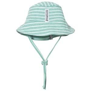 Geggamoja Unisex Headwear Green Sunny Hat Green Melange White