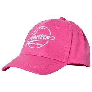 Geggamoja Girls Commission Headwear Pink Cap Pink