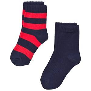 Reima Unisex Underwear Navy Colombo Socks Navy