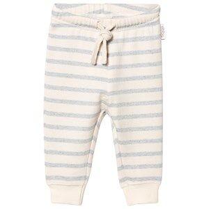 eBBe Kids Unisex Bottoms Blue Serle Baby Sweatpants Blue Fog Stripes