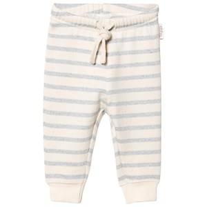 eBBe Kids Unisex Bottoms Blue Serle Baby Sweatpants Blue Fog Stripes